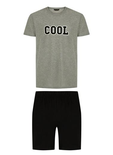 Penti Cool Şortlu Pijama Takımı Renkli